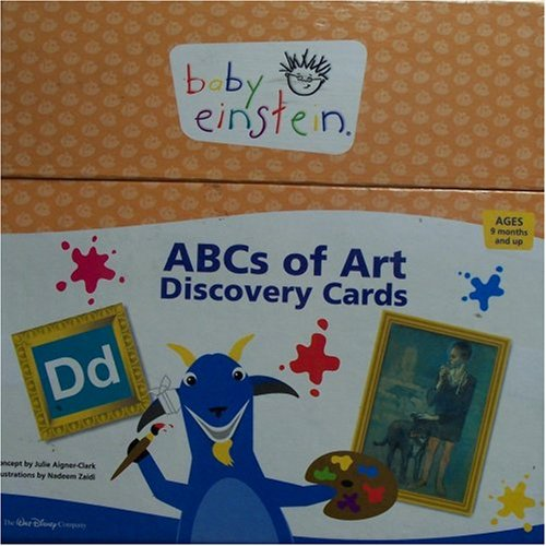 Baby Einstein: ABCs of Art Discovery Cards (Baby Einstein Abcs Of Art Discovery Cards)