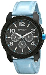 Sprout Unisex ST/7002BKLB Tyvek Blue Recycled Strap Multi-Function Watch