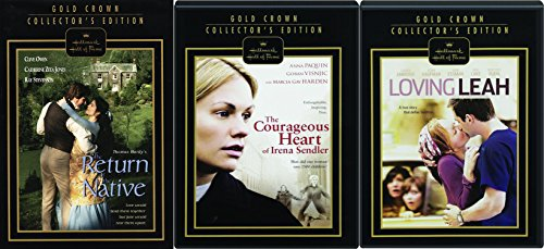 Hallmark 3-Pack Gold Crown Edition - The Return of the Native, Loving Leah & The Courageous Heart of Irene Sendler 3-DVD Bundle