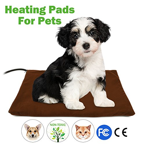 pet heating pad fochea dog cat electric heating pad waterproof adjustable warming mat with chew. Black Bedroom Furniture Sets. Home Design Ideas