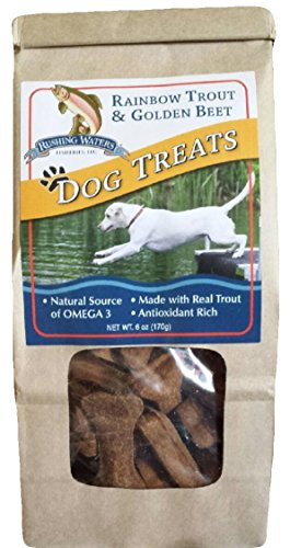 Sam's Yams Rainbow Trout Dog Treats - Golden Beet