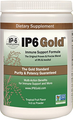 Original IP-6 Gold Immune Support Formula With Stevia Tropical Fruit Flavor - 14.6 Ounce by IP-6 International, Inc.