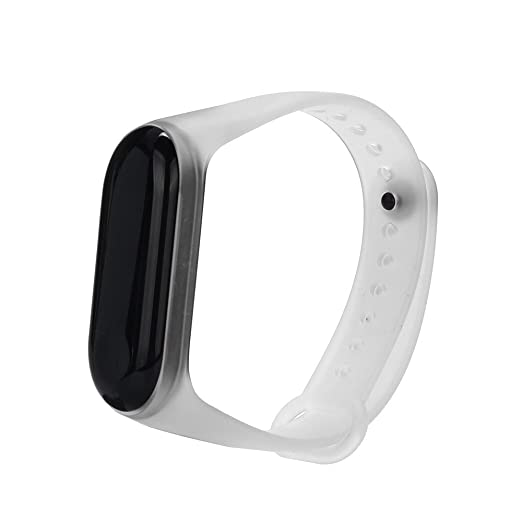 Amazon.com: Tharv❤Clear Soft Silicone Unique Replacement Wristband ...