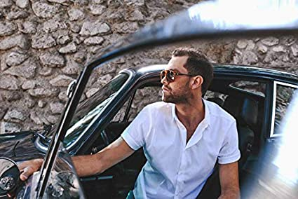 Driver Glasses For Men//Women By Andretti Optics Classic Aviator Sports Car Inspired Sunglasses