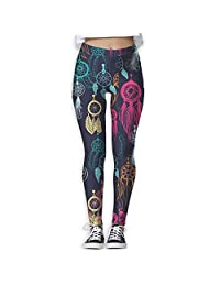 Dream Catcher Colorful Women's Yoga Pants Leggings
