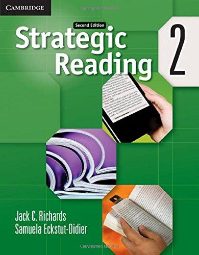 Strategic Reading Level 2 Students Book