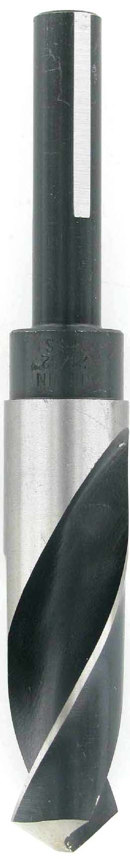 Irwin 29/32'' Silver & Deming High Speed Steel Fractional 1/2'' Reduced Shank Drill Bits