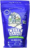 Fine Ground Celtic Sea Salt - (1) 16 Ounce Resealable Bag of Nutritious, Classic Sea Salt, Great for Cooking, Baking, Pickling, Finishing and More, Pantry-Friendly, Gluten-Free