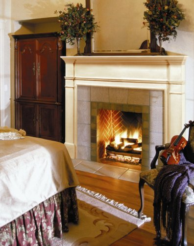Pearl Mantels 120-48 Windsor 48-Inch Fireplace Mantel Surround, Unfinished
