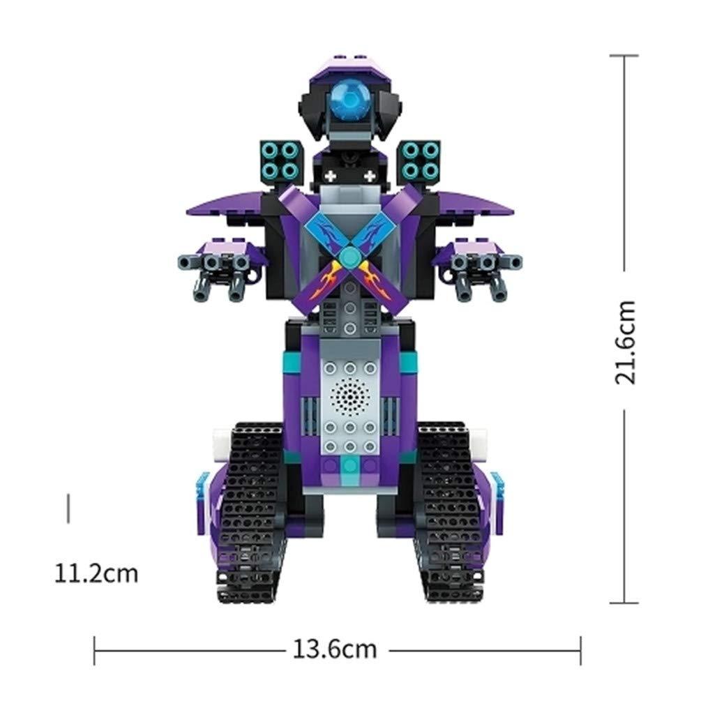 DIY Building Blocks Walking RC Smart Robot Electronic Robot PEACE BIRD 333PCS DIY 2.4G Control Robot