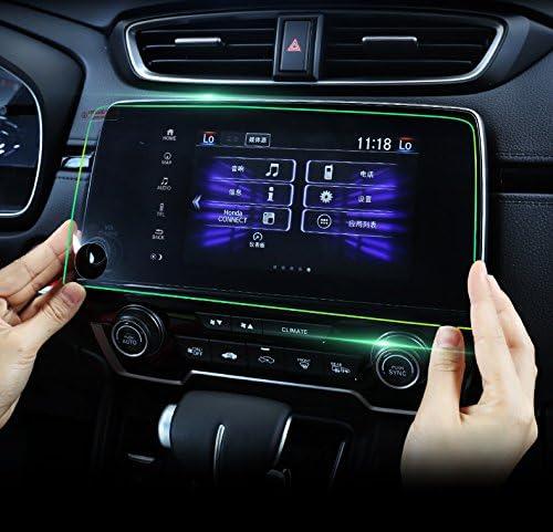 Black titanium Center Console CD Panel Cover For Honda CRV CR-V 2017 2018 2019