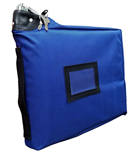 Prescription Medication Bag Standard Lock Travel Case (Blue) ()