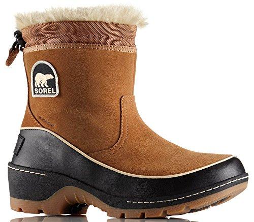 SOREL Tivoli III Pull-On Boot - Women's Elk/Black, 8.0 by SOREL