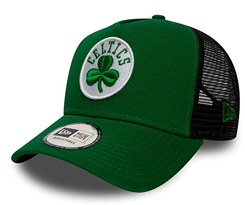 A NEW ERA ERA Gorra Trucker Team Essential Boston Celtics Verde