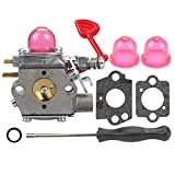 Butom 545081855 Carburetor with Gasket Adjustment Tool Primer Bulb for Craftsman 358794650 358794600 25Cc 210mph 200mph 450cfm 430cfm Gas Blower WT-875