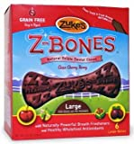 Dog Supplies Z-Bone Large Cherry 6 pack, My Pet Supplies