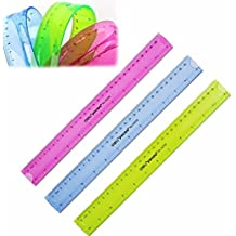 "Doradus 12"" 30cm Super Flexible Ruler Rule Measuring Tool Stationery for Office School"