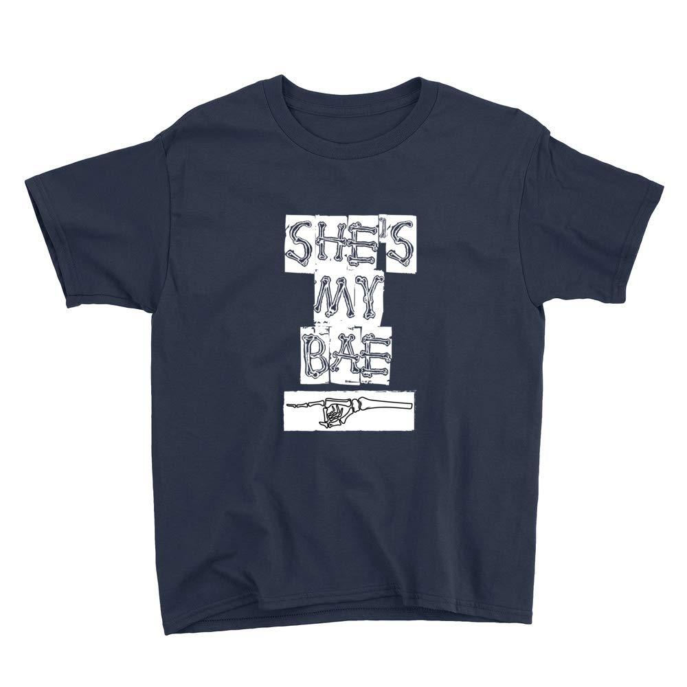 My Bae Skeleton Hand Youth T-Shirt