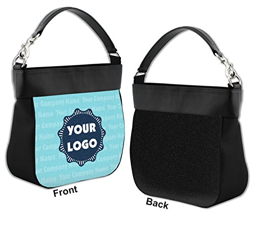 Purse Logo Hobo w Personalized Leather Front Genuine Name Trim amp; Company wqtHrIt