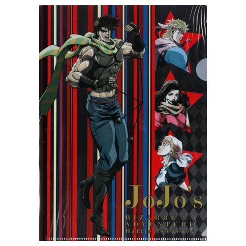 JoJo's Bizarre Adventure The Animation Lawson limited original draw down clear file Battle Tendency single item