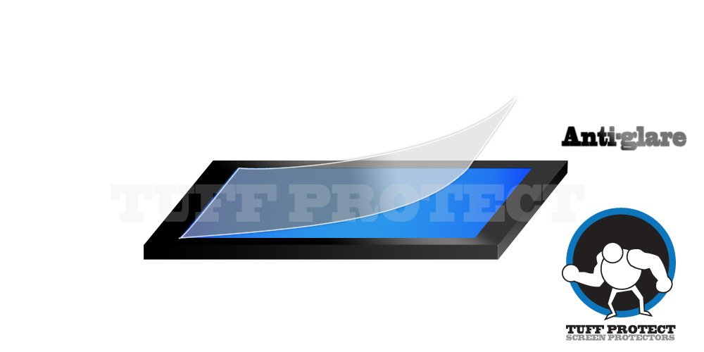 Tuff Protect Anti-Glare Screen Protectors for 2019 Chevrolet Equinox Premier 8 inch Navigation Screen