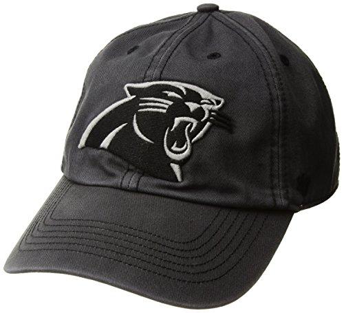 '47 NFL Carolina Panthers Sachem Franchise Fitted Hat, Small, Charcoal Carolina Panthers Fitted Hat