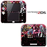 Monster High Ghoul Bloody Dolls Decorative Video Game Decal Cover Skin Protector for Nintendo 2Ds