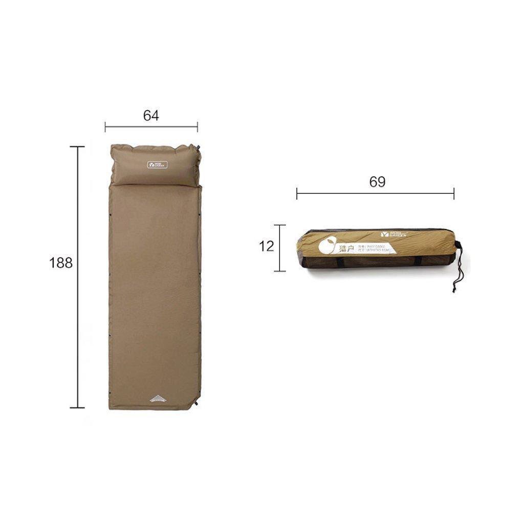 Mobi Outdoor-Ausrüstung kann weiteten Kissen automatisch aufblasbaren Kissen Feuchtigkeit Pad LH verdickt werden gespleißt