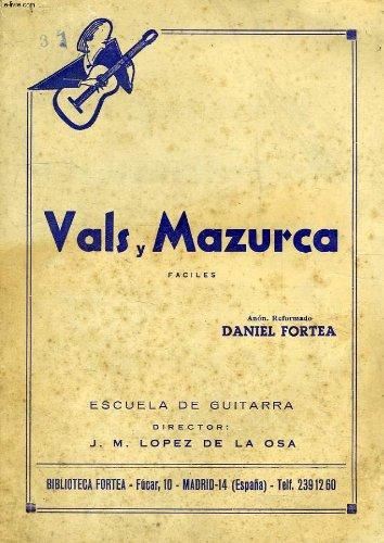 VALS Y MAZURCA: Amazon.es: FORTEA DANIEL: Libros