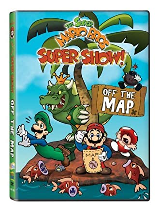 Amazon.com: Super Mario Bros Super Show: Off the Map [DVD ... on map of moshi monsters, map of fire emblem, map of oregon trail, map of kingdom hearts, map of sports, map of pokemon, map of sesame street, map of luigi's mansion, map of angry birds, map of baseball, map of hello kitty,