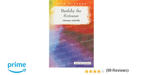 com bartleby the scrivener tale blazers  com bartleby the scrivener tale blazers 9780895986832 herman melville books