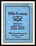 Willis Products - Catalog No. 8: Sheet Metal Building Products