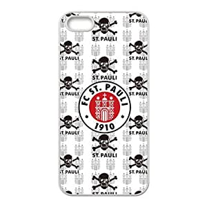 FC ST. Pauli skull Cell Phone Case for iPhone 5S