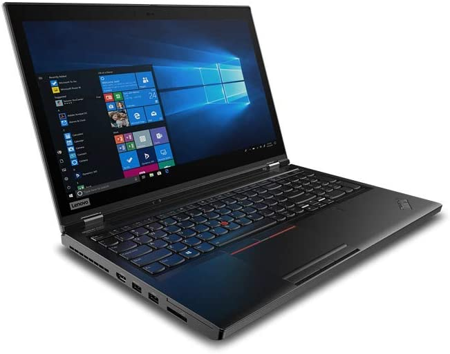 "Lenovo ThinkPad P53 Mobile Workstation 20QN001YUS - Intel Six Core i7-9750H, 16GB RAM, 512GB PCIe Nvme SSD, 15.6"" HDR 400 FHD IPS 500Nits Display, NVIDIA Quadro T1000 4GB Graphics, Windows 10 Pro"
