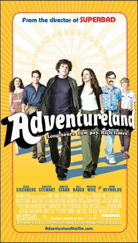 Adventureland Movie Poster (20 x 40 Inches - 51cm x 102cm) (2009) -(Jesse Eisenberg)(Kristen Stewart)(Martin Starr)(Bill Hader)(Kristen Wiig) (Adult Movies Xx Rated For Women)