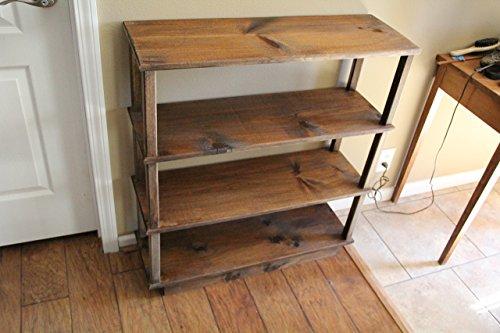 Pine Bookcase Traditional (Bookshelf, bookcase, children's bookshelf, pine bookshelf, office furniture)