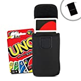 USA Gear Travel Carry Case for UNO Card Game with Belt Loop , Carabiner Clip , & Scratch-Resistant Interior - Perfect for On the Go Gaming , Camping , & Storage