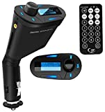 Amzdeal Car Kit MP3 Player Wireless FM Transmitter Modulator with ...