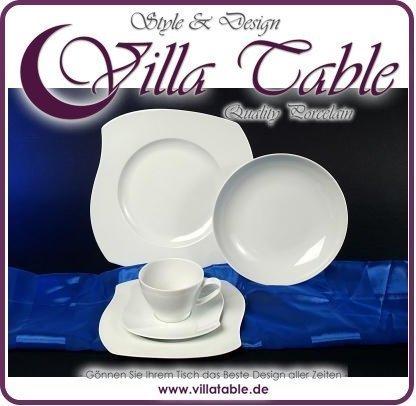 Eureka blanco Vajilla 30 teilig nuevo porcelana vajilla para 6 ...