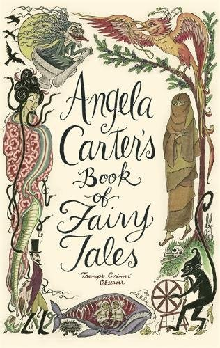 book cover of Angela Carter\'s Book of Fairy Tales