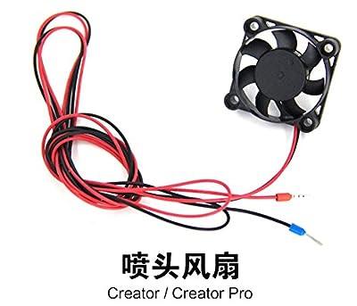 HEASEN Nozzle Cooling Fan 24V for Flashforge 3D Printer Nozzle Fan for Creator/Creator Pro