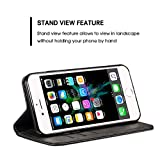 Compatible for Iphone 7 Leather Wallet Phone Case