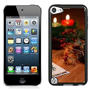New Beautiful Custom Designed Cover Case For iPod 5 With Sweet Christmas Decoration Phone Case