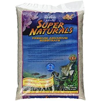 Carib Sea ACS05840 Super Naturals Crystal River Sand for Aquarium, 5-Pound