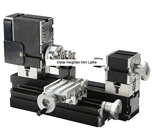 TZ20002MG 60W Metal Heighten Mini Lathe/60W,12000rpm Big Power metal lathe by MUCHENTEC