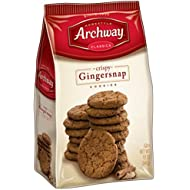 Archway Cookies, Crispy Gingersnaps Cookies, 12 Ounce