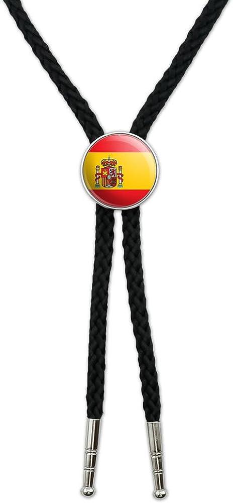 España español bandera Sáhara occidental vaquero cuello lazo, corbata de bolo: Graphics and More: Amazon.es: Joyería