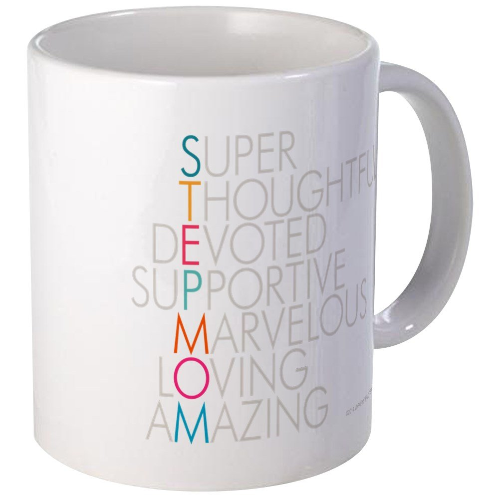 Amazon.com: CafePress - Super Stepmom Mugs - Unique Coffee Mug ...