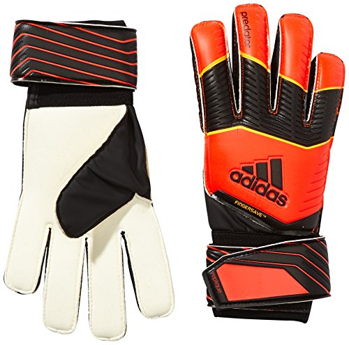 adidas Herren Handschuhe Predator Fingersave Replique, Solar Red/Black/Solar Gold, 11.5, F87188