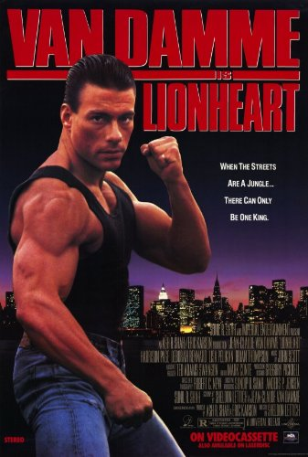 Lion Heart Poster Movie 11x17 Jean-Claude Van Damme Harrison Page Deborah Rennard Lisa Pelikan